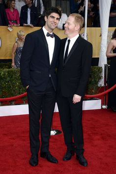 Justin Mikita and Jesse Tyler Ferguson #SAGAwards