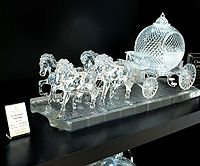 Waterford Crystal Cinderella's Pumpkin Coach at House of Waterford Ireland