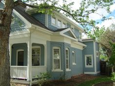 Exterior House Colors That Really Pop!: Urban Jungle | Oklahoma City ...