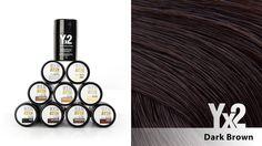 Yx2-hiustuuhennetta on saatavana 9 eri värisävyä, kuten tämä tummanruskea sävy. Voit käyttää myös eri sävy-yhdistelmiä, jolloin löydät tarvittaessa juuri oikean sävyn. Yx2-tuotteet löydät: www.yx2.fi/kauppa #yx2 #hiustuuhenne #sävy #color #darkbrown #tummanruskea