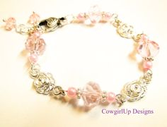 Swarovski Crystal's And Pearls Sweetheart by RiverSongsJewelry, $20.00