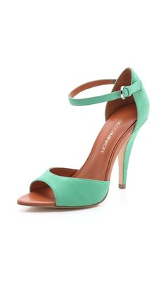 A bit on the girlie side for me...but these P.O.P. >> Rebecca Minkoff Ellie High Heel Sandals via @shopbop