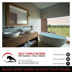 Hotel interior for the Mhondoro Game Lodge by All-In Living. Visual Merchandising, Villas In Italy, Game Lodge, Bedroom With Ensuite, Coastal Farmhouse, Design Furniture, Stores, Modern Bathroom, Luxury Homes
