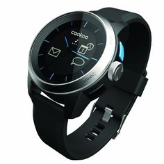 COOKOO Smart Bluetooth Connected Watch, Silver * Details can be found by clicking on the image.