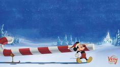 Fondo de pantalla para computadora o iPad de Mickey Mouse Navideño / Disney Wallpaper / Disney Parks Blog
