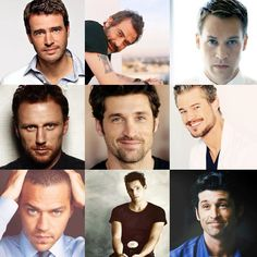 Grey's Anatomy....the most perfect pictures of the already perfect guys...