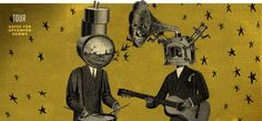Neutral Milk Hotel is finally hitting the road again: Jeff Mangum, Jeremy Barnes, Scott Spillane and Julian Koster announced Monday that the indie rock outfit will tour for the first time in 15 years. Indie Rock Outfits, Jeff Mangum, Neutral Milk Hotel, Much Music, Indie Scene, Tour Posters, Spotify Playlist, My Favorite Music, Cool Bands