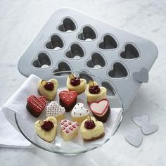 tiny heart treats :D