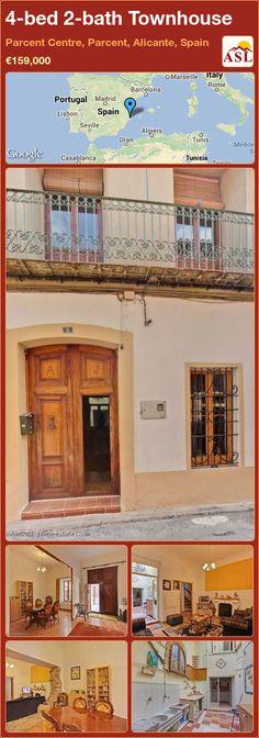 4-bed 2-bath Townhouse in Parcent Centre, Parcent, Alicante, Spain ►€159,000 #PropertyForSaleInSpain