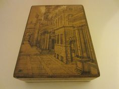 Fratelli Alinari Florence Italy Architectural Print Florentine Box