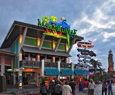 Margaritaville Universal Studios Orlando FL in the City Walk