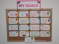 I do and have always lived by goal boards. The secret to obtaining goals is not only having them but putting them to a time line. Don't worry if you don't hit the time line...that's why you make goal boards out of dry erase markers/pencils...so that you can change them up when you need to =)