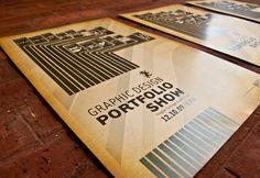 Graphic Design Portfolio Show Poster