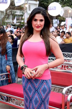 Zarine Khan Picture Gallery image # 340080 at World Environment Day Event By Bhamla Foundation containing well categorized pictures,photos,pics and images. Indian Bollywood Actress, Bollywood Girls, Beautiful Bollywood Actress, Bollywood Fashion, Indian Actresses, Bollywood Stars, Beautiful Red Dresses, Beautiful Girl Indian, Most Beautiful Indian Actress