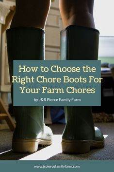 Looking for a new pair of kicks for the farm? Consider these ten best rubber chore boots - and our helpful buying guide. Homestead Farm, Homestead Survival, Farm Clothes, Farm Projects, Raising Chickens, Organic Farming, Growing Vegetables, Hunter Boots, Homemaking