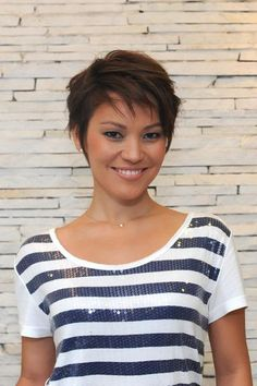 Pixie Haircuts for Fine Hair | mudança radical do look de Geovanna Tominaga para ser a nova ...