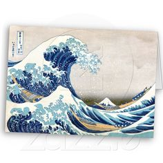famous tsunami painting.. was cover to one of my textbooks actually..