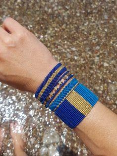 Macrame Thread, Micro Macrame, Macrame Jewelry, Macrame Bracelets, Handmade Bracelets, Friendship Bracelet Patterns, Friendship Bracelets, Thread Jewellery, Creations