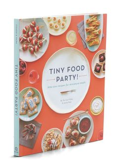 Tiny Food Party!  Looks like a fun book.  Reminds me of my sister and her fascination with tiny utensils :)
