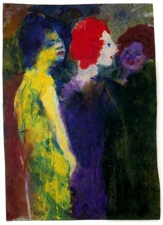 Emil Nolde - The Red Head