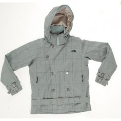 The North Face Checked Outdoor Jacket