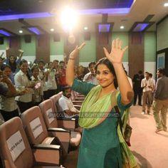 Vidya Balan at Parul Institute