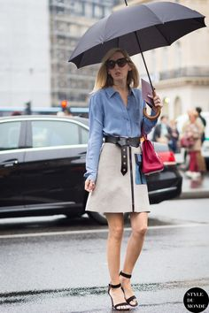 Jane Keltner de Valle Street Style Street Fashion Streetsnaps by STYLEDUMONDE…