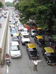 Traffic jams in Mumbai