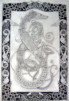 knotty-inks - Celtic Dragon