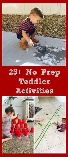 NO PREP activities for toddlers! add this to your list! | parenting tips | toddler tips | toddler life | parenting