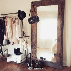 large mirror for dressing