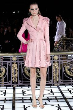 Major! This brings Pretty and Pink to a whole other level! Versace Spring 2013