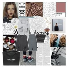"""I SWEAR I HATE YOU WHEN YOU LEAVE"" by dreams-of-pxrxdise ❤ liked on Polyvore featuring Chanel, Brinkhaus, Le Ciel Bleu, Topshop, Monki, Clips, Christy and MeenaGotTagged"
