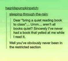 cool Obviously they haven't read any books that made them cry and scream... by http://www.dezdemonhumor.top/harry-potter-humor/obviously-they-havent-read-any-books-that-made-them-cry-and-scream/