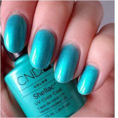 Adore this colour. Cnd Colours, Cnd Shellac Colors, Gel Polish Colors, Nail Polish, Salmon Run, Nail Tech, Essie, Nails, Beauty