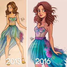 Find images and videos about art, selena gomez and draw on We Heart It - the app to get lost in what you love. Amazing Drawings, Beautiful Drawings, Cute Drawings, Girl Drawings, Cartoon Drawings, Cartoon Art, Character Drawing, Character Design, Itslopez