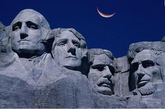 Mount Rushmore – Grandma must be yearning for Grandson's face there in the future