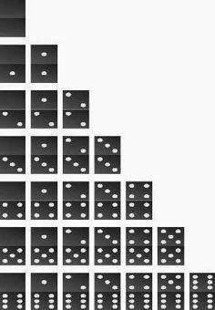 Cómo hacer un dominó con piedras ~ lodijoella