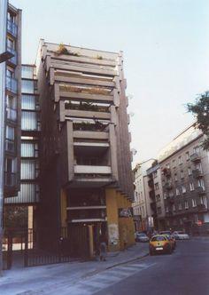 Bratislava, residential building. Bratislava, Travelogue, Brutalist, Destruction, Skyscraper, Architecture Design, Multi Story Building, Modern, Beautiful