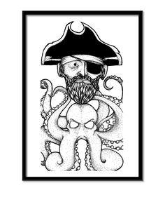 Piratblæksprutte