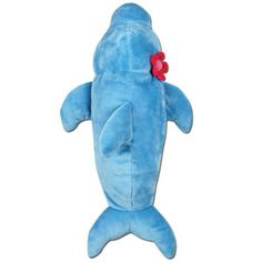 "Stephen Joseph Silly Sac Dolphin — 18"" — A combination of mesh and plush make these silly little critter backpacks irresistible! Terrific for the beach or stuffed with PJ's for for a sleepover. Fill them with coordinating items for an extra special gift and personalize them with a monogram!"