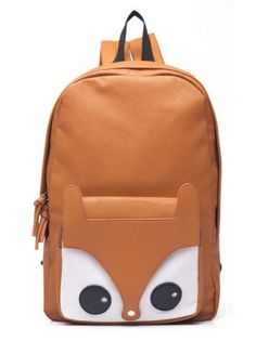 Cute little owl-y backpack! Come little bird, come!