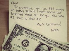 If you're feeling poor. | 37 Awesome Christmas Card Ideas You Should Steal