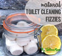 Natural Toilet Cleaning Fizzies Recipe