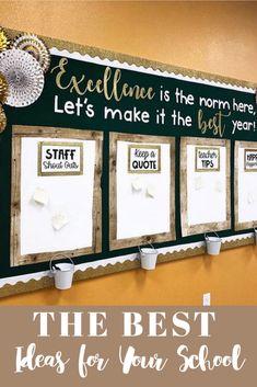 Middle School Classroom, New Classroom, School Staff, Classroom Themes, Classroom Organization, Classroom Management, Stars Classroom, School Leadership, School Counseling