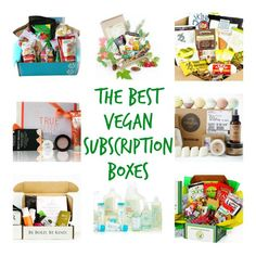 Looking for the ultimate vegan subscription box list? I've sampled every one of these 8 vegan subscription boxes and highly recommend them!