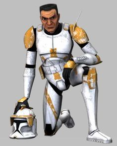 Commander Cody (7th Sky Corps and sometimes leader of the 212th Attack Battalion)