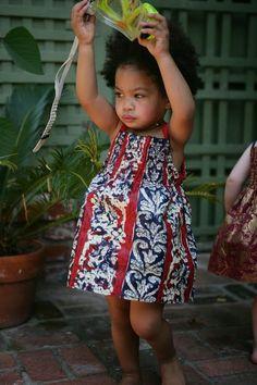 African Dresses Ankara Style For Children - DeZango Fashion Zone