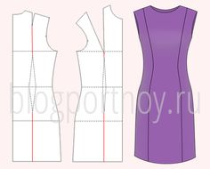 Tunic Sewing Patterns, Dress Patterns, Dress Tutorials, Sewing Tutorials, Diy Crafts Dress, Crochet Hippo, Embroidery Dress, Sewing Clothes, Pattern Making