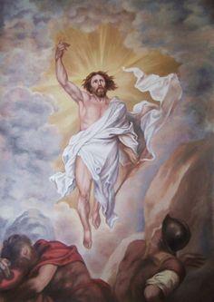 ARTE SACRO - Pintura Religiosa: Resurrección de Cristo
